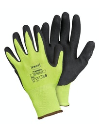 KÄSINEET PROF FLASHGRIP HI-VIS LATEX