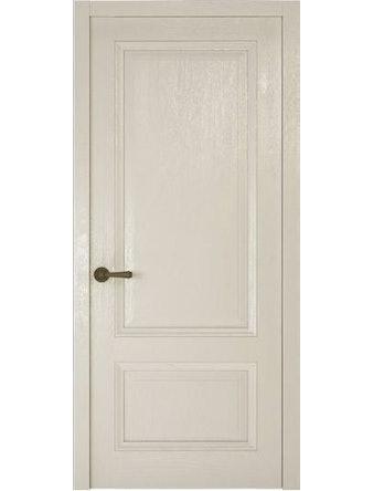 Дверное полотно глухое Рива Классика-1, дуб белый, 800 х 2000 мм