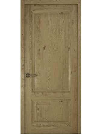 Дверное полотно глухое Рива Классика-1, дуб золотой, 400 х 2000 мм