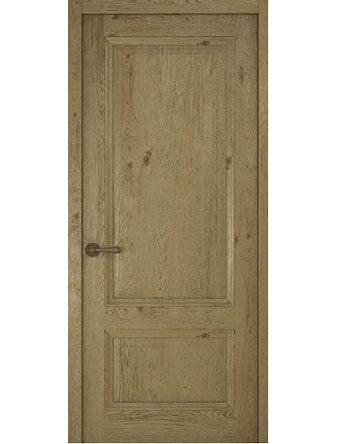 Дверное полотно глухое Рива Классика-1, дуб золотой, 700 х 2000 мм