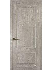 Дверное полотно глухое Рива Классика-1, дуб серый, 900 х 2000 мм