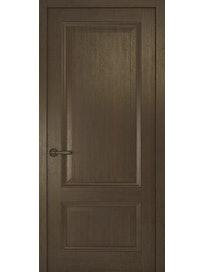 Дверное полотно глухое Рива Классика-1, дуб табачный, 400 х 2000 мм