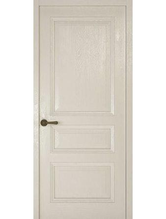 Дверное полотно глухое Рива Классика-2, дуб белый, 400 х 2000 мм