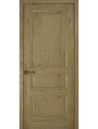 Дверное полотно глухое Рива Классика-2, дуб золотой, 700 х 2000 мм