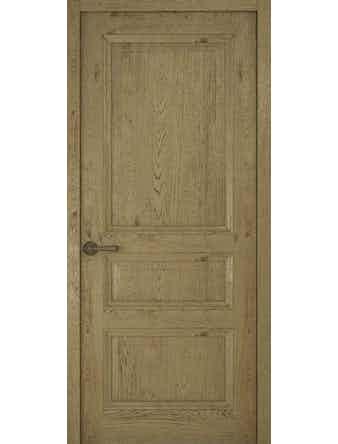 Дверное полотно глухое Рива Классика-2, дуб золотой, 900 х 2000 мм