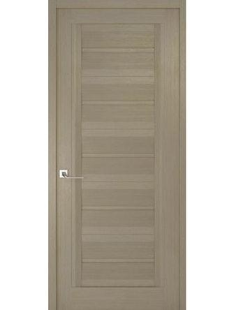 Дверное полотно глухое Рива Модерно-1, дуб натуральный, 400 х 2000 мм