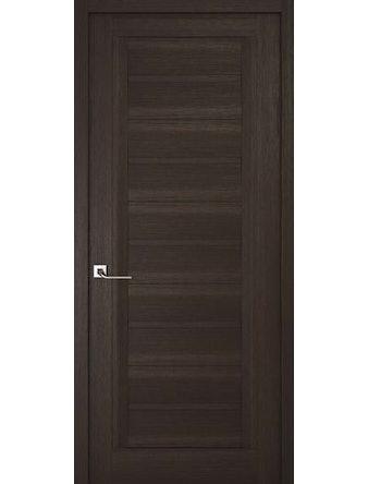 Дверное полотно глухое Рива Модерно-1, венге, 400 х 2000 мм