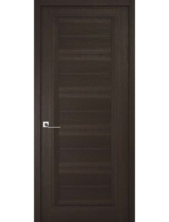 Дверное полотно глухое Рива Модерно-1, венге, 700 х 2000 мм