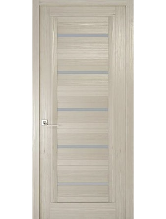 Дверное полотно с матовым стеклом Рива Модерно-1, дуб жемчужный, 900 х 2000 мм