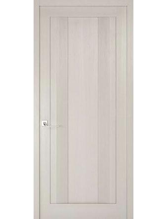 Дверное полотно глухое Рива Модерно-2, дуб белый Аляска, 400 х 2000 мм