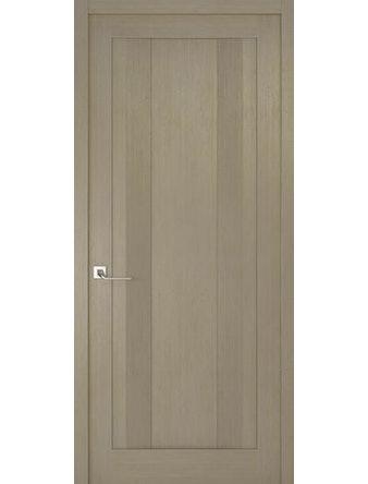 Дверное полотно глухое Рива Модерно-2, дуб натуральный, 800 х 2000 мм
