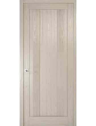 Дверное полотно глухое Рива Модерно-2, дуб жемчужный, 600 х 2000 мм