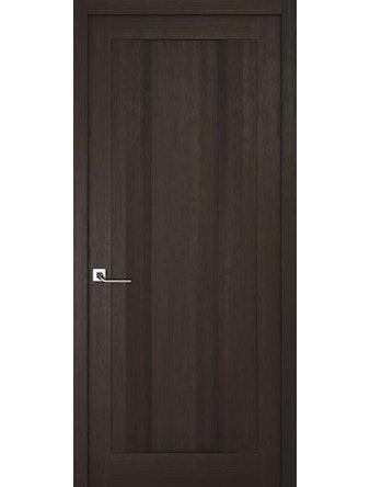Дверное полотно глухое Рива Модерно-2, венге, 400 х 2000 мм