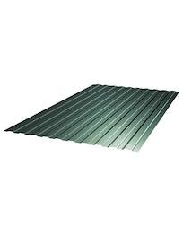 Профнастил С8 6005, 1,2 x 2,5 м, 0,4 мм, зеленый