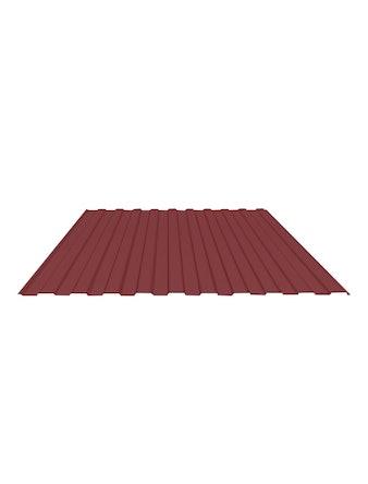 Профнастил С8 3005, 1,2 x 2,5 м, 0,4 мм, красный