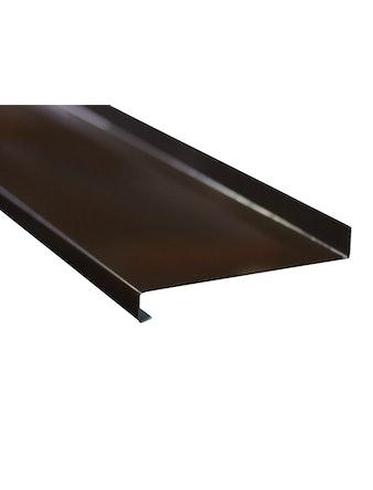 Отлив оконный металлический 8017, 2000 х 150 мм, коричневый