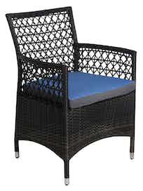 Кресло садовое Cello Paris, искусственный ротанг, 59 х 65 х 85 см