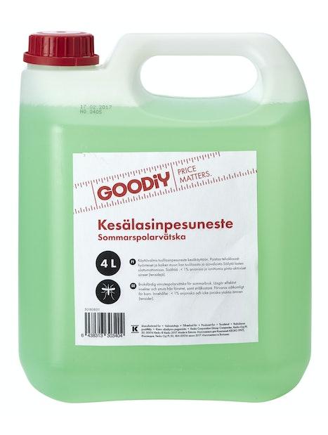 KESÄLASINPESUNESTE GOODIY 4L
