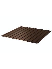 Профнастил С8 8017, 0,45 мм, 1,2 х 2 м, коричневый