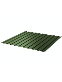 Профнастил С8 6005, 0,45 мм 1,2 х 2 м, зеленый