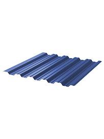 Профнастил НС35 5005, 0,45 мм, 1,06 х 2 м, синий