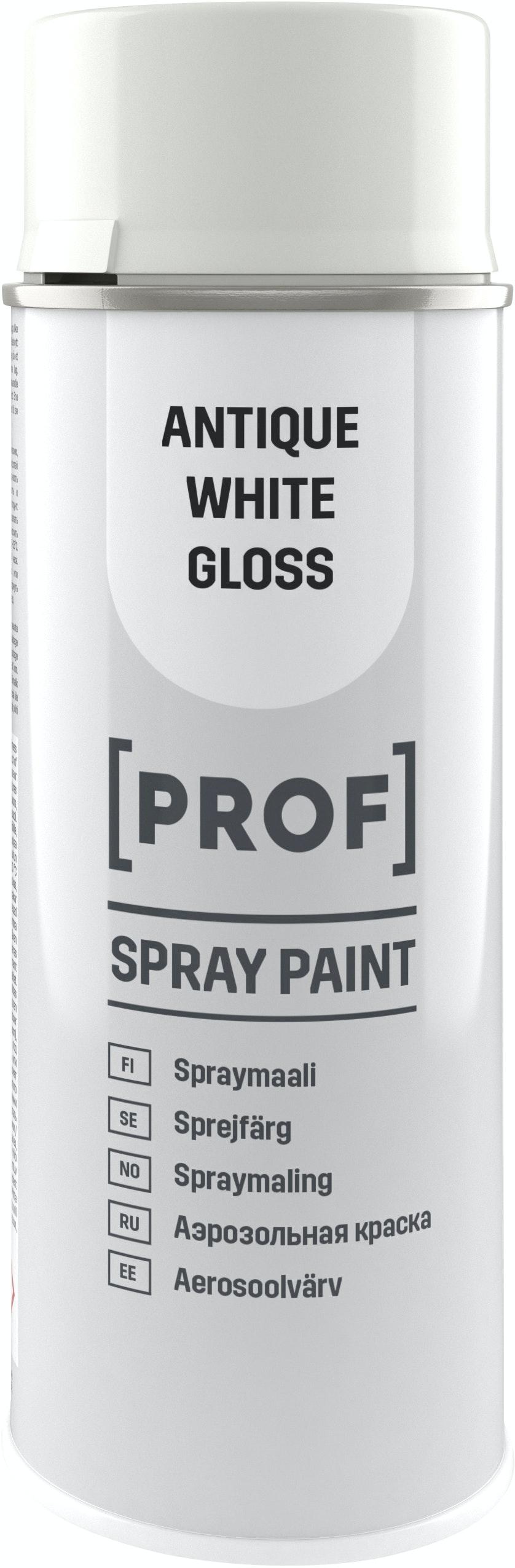 Sprayfärg Prof Professional Blank Antikvit 400ml