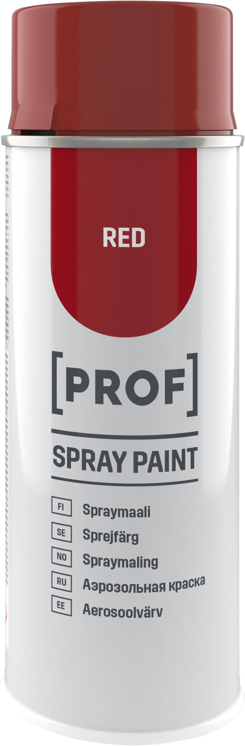 Sprayfärg Prof Professional Högblank Röd 400ml