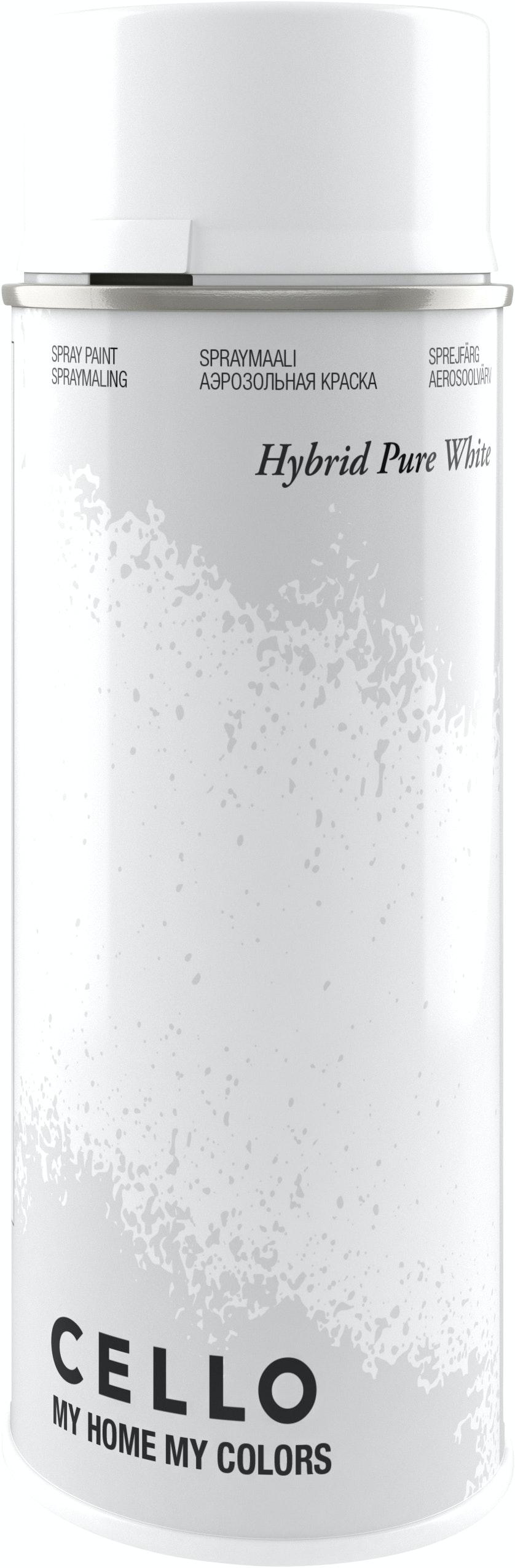 Sprayfärg Cello Hybrid Blank Vit 400ml