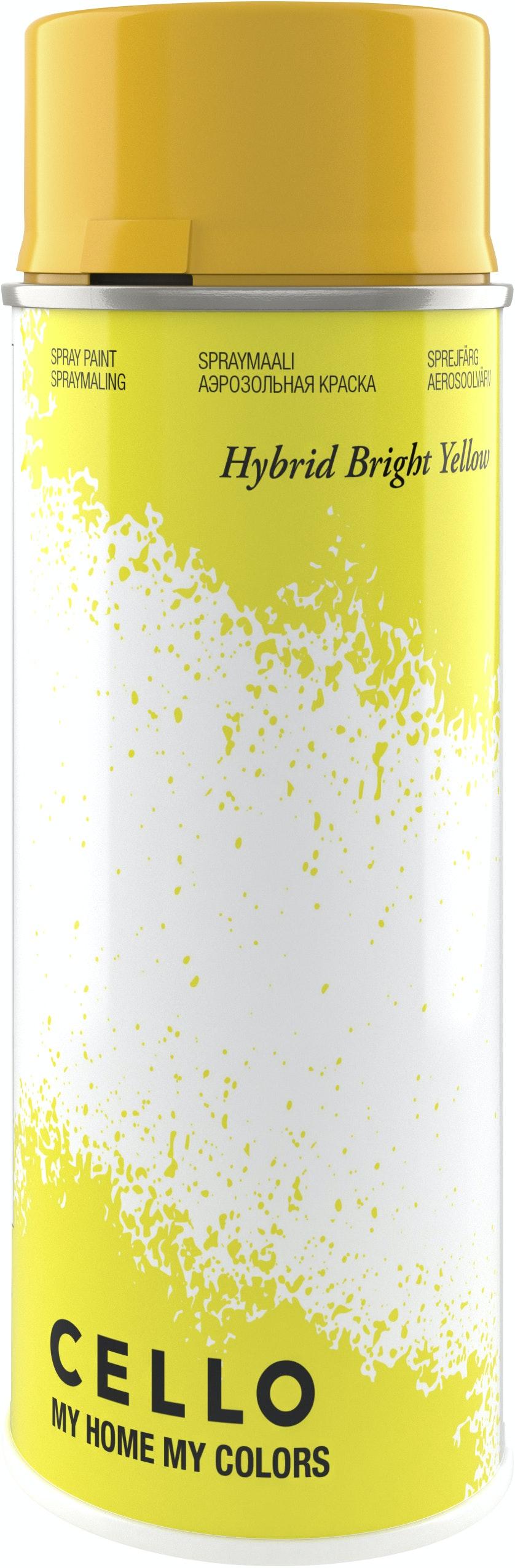 Sprayfärg Cello Hybrid Klargul 400ml