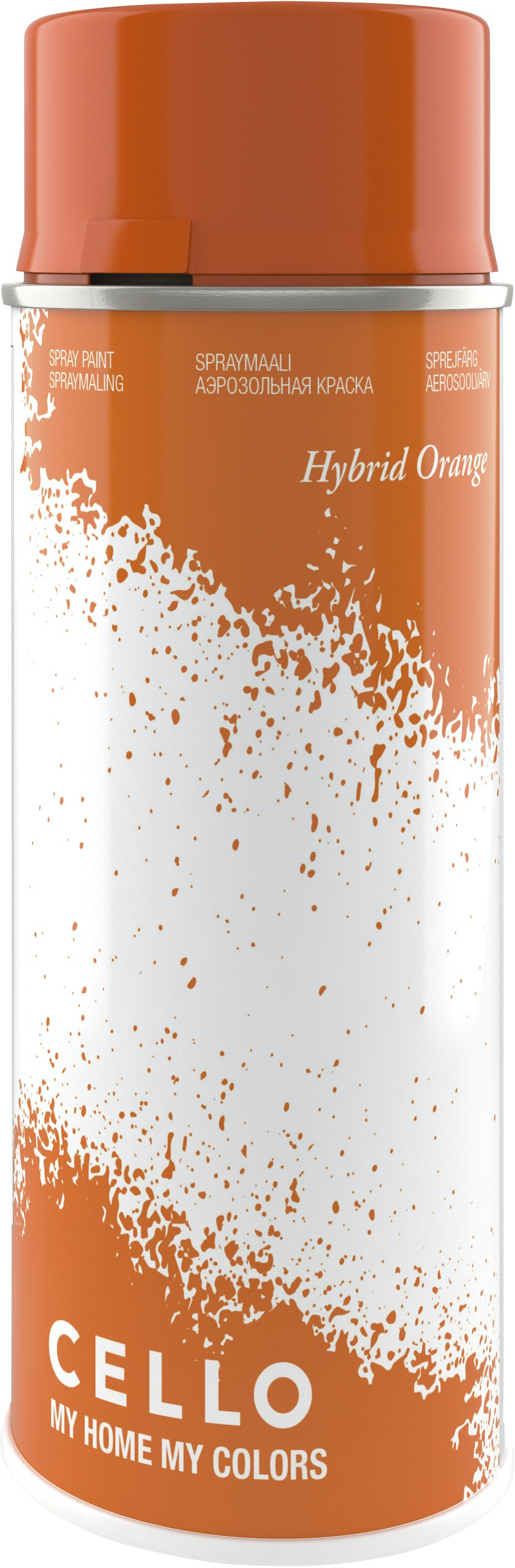 Sprayfärg Cello Hybrid Orange 400ml