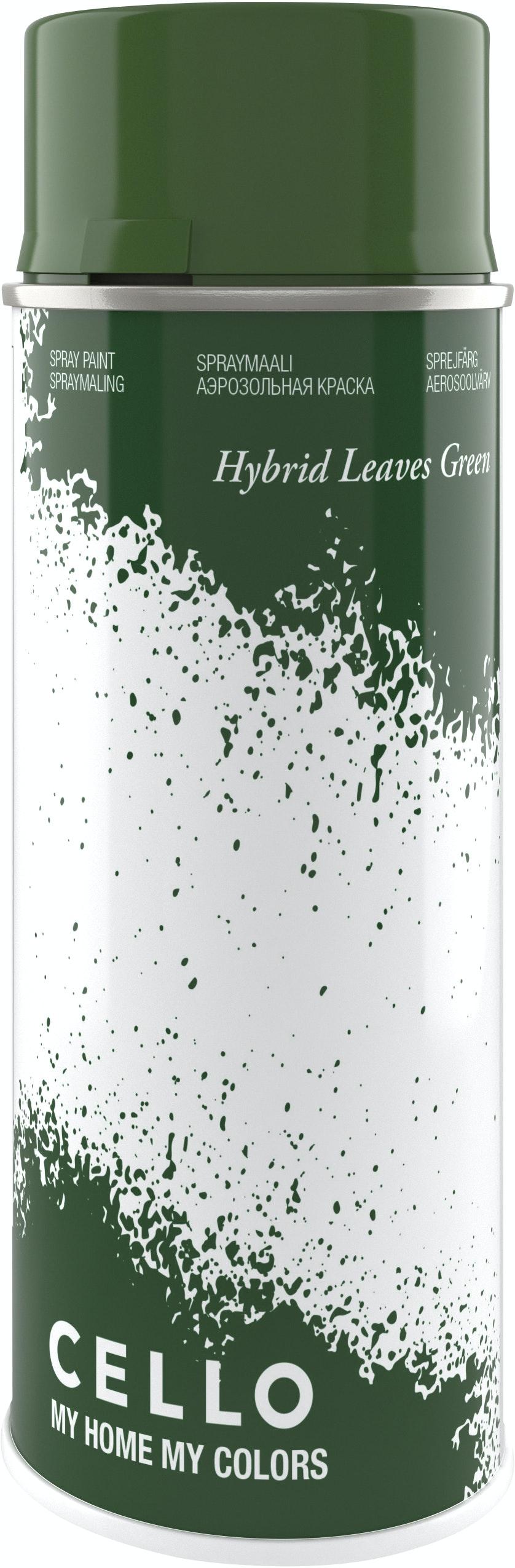 Sprayfärg Cello Hybrid Grön 400ml