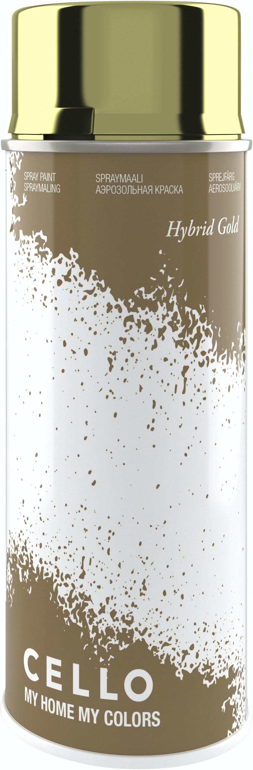 Sprayfärg Cello Hybrid Guld 400ml