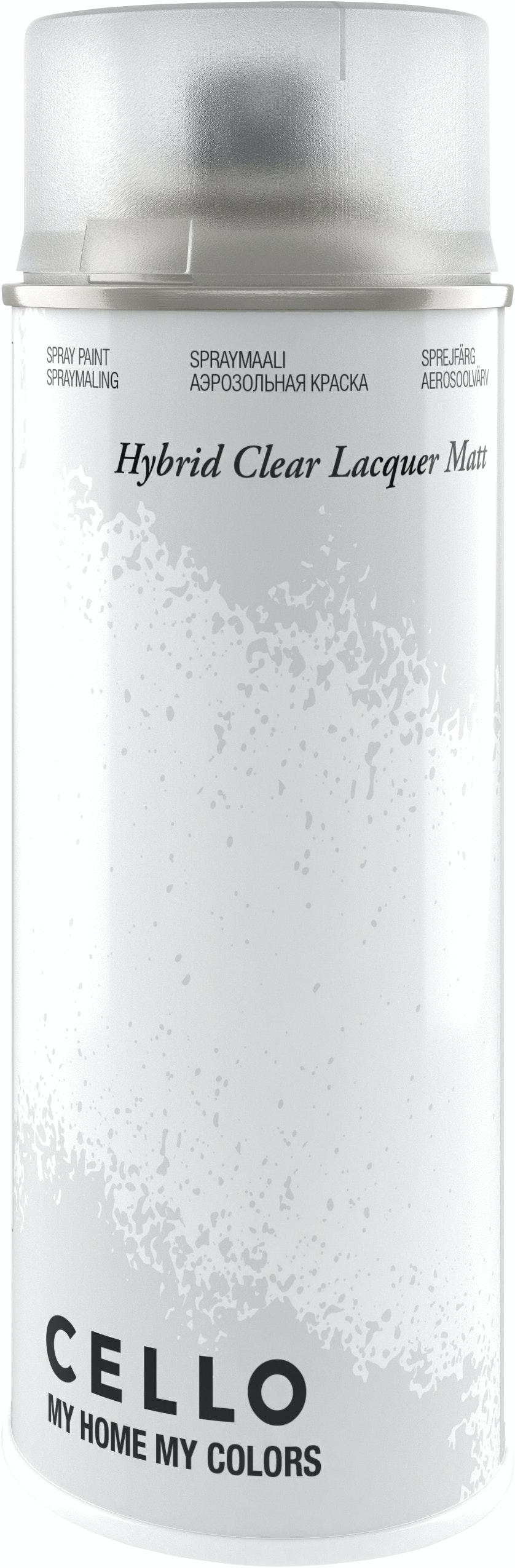 Sprayfärg Cello Hybrid Klarlack Matt 400ml