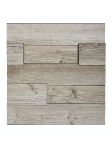 SISUSTUSPANEELI CELLO 12X132X1296 3D MOUNTAIN HUT PINE K047 MDF 1,26M2