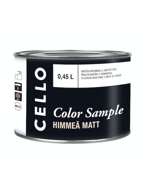 VÄRIMALLI CELLO COLOR SAMPLE PM3 0,45L