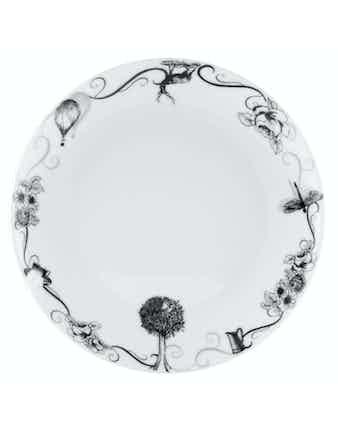 Тарелка обеденная ONCE UPON ATIME 24.5см