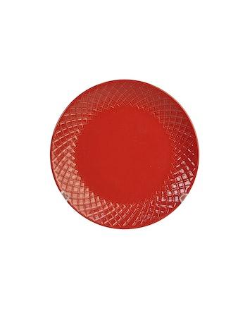Тарелка Amber, 22 см, красная