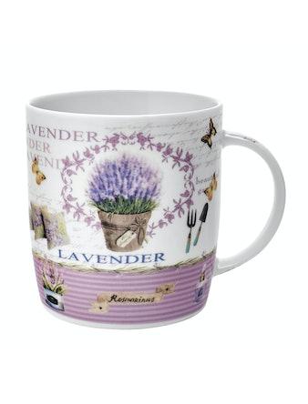 Кружка Lavender in pots, 370 мл