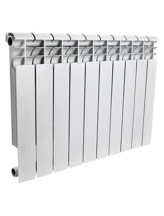 Радиатор алюминиевый Rommer Profi 500/80, 10 секций