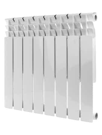 Радиатор алюминиевый Rommer Optima 500/78, 8 секций