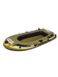 Надувная лодка с веслами и насосом, 218 х 110 х 36 см