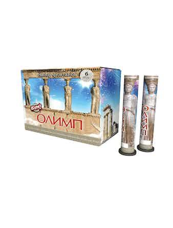 Фонтан Олимп Храм богов высота 1 м время 25 с