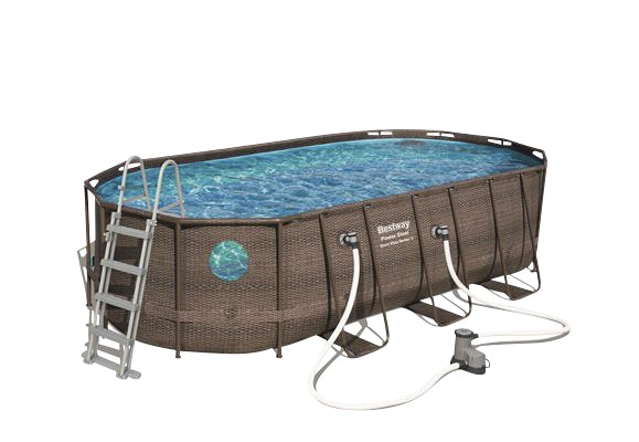 Pool Bestway Power Steel Swim Vista Oval Rotting 13430l 5,49x2,74x1,22m