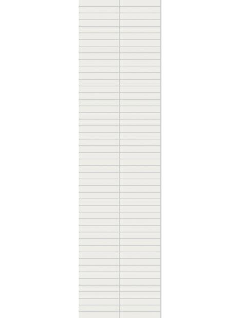 MÄRKÄTILALEVY FIBO 3091-F03HG DENVER WHITE 60X240CM 2KPL
