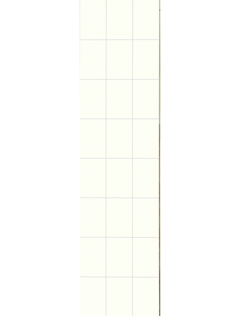 SISUSTUSLEVY FIBO 3091 HG F22 DENVER WHITE 2,88M2
