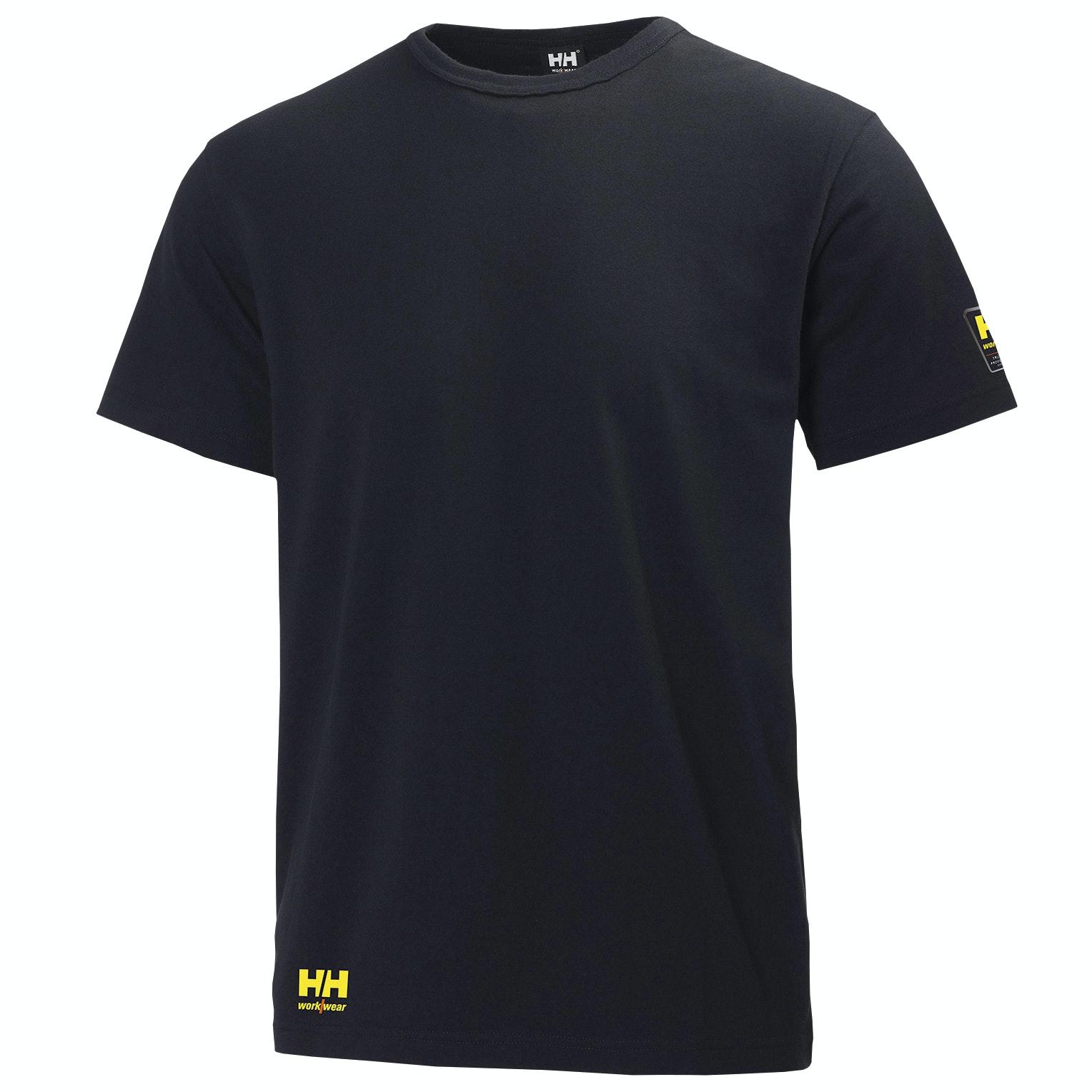 T-shirt Helly Hansen Aker Tee Svart Stl: S
