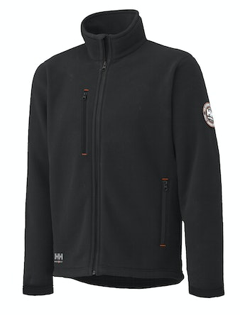 Fleecejacka Helly Hansen Svart Langley Stl L
