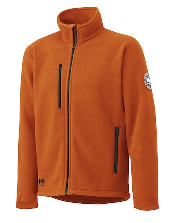 Fleecejacka Helly Hansen Langley Orange Stl M