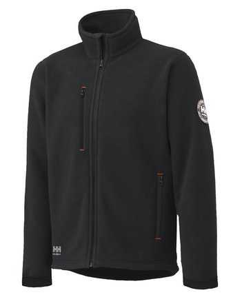 Fleecejacka Helly Hansen Svart Langley Stl S