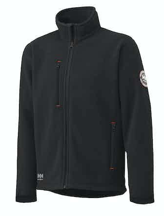 Fleecejacka Helly Hansen Svart Langley Stl XL